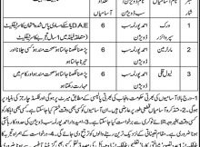 Irrigation Department Raheem Yar Khan Jobs (Total 18 Jobs) 14th November 2017 Nawaiwaqt