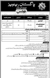 Division Multan Railway Pakistan Gate Main, Assistant Telecom Technician Nov 2017 Nawa-i-waqt