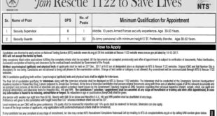 Punjab Emergency Service Rescue 1122 Jobs 26th November, 2017 (Total 33 Jobs) Express