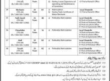 Pakistan Trade Development Authority 81 Jobs Jang Newspaper 05 December 2017