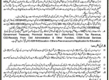 Hafizabad District Education Authority, 272 Educators Jobs 25 December 2017 Daily Khabrain Newspaper