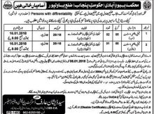 Bahawalpur Population Welfare Department 03 jobs 22 December, 2017 Daily Khabrein.