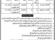 R.Y Khan Family Welfare Assistant 02 Jobs 23 December 2017 Khabrain Newspaper