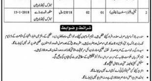 R.Y Khan Family Welfare Assistant 02 Jobs 23 December 2017 Khabrain Newspaper