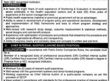 Punjab Population Innovation Fund (PPIF) 02 Jobs 24 December 2017 the News Newspaper
