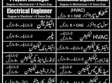 Electrical Engineer Abu Dhabi Jobs Express Newspaper 09 January 2018