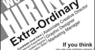 Graphic Designer Jobs Jang Newspaper 27 January 2018 Creative Director