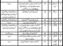 Balochistan Jobs Jang Newspaper Infrastructure Department 31 January 2018