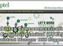 Pakistan Telecommunication Company Limited Islamabad Jobs 11 January 2018