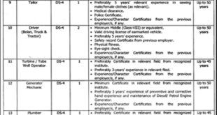 Mianwali Punjab Daanish School 42 Jobs Jang Newspaper 25 January 2018