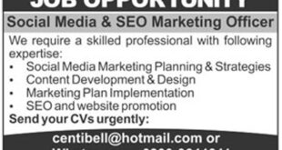 The News Newspaper Social Media & SEO Marketing Officer Jobs 26 January 2018