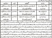 District Torghar Forest Department 05 jobs 30th January 2018, Daily Mashriq Newspaper