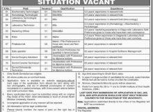 Karachi, Jinnah Sindh Medical University 19 Jobs, 14 January 2018 Daily the Dawn Newspaper.