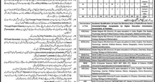 Sahiwal District Education Authority, Educators and AEO's 926 Jobs 02 January 2018 Khabrain Newspaper
