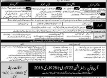 Pakistan Air Force Latest Jobs 21 January 2018 Daily Nawa-e-Waqat Newspaper
