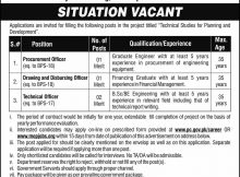 Govt. of Pakistan Planning Commission 04 Jobs, 24 Jan 2018 Daily Express Newspaper.