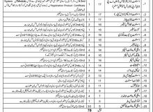 Govt. of Baluchistan, Quetta Development Authority 70 Jobs, 20 January 2018 Daily Jang Newspaper