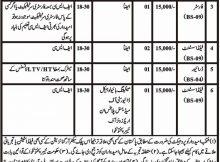 Govt. of Khyber Pakhtunkhwa, Public Sector Organization 07 Jobs, 15 january 2018 Daily Mashriq Newspaper