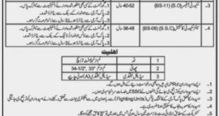 Lahore, Special Protection Unit (SPU) Latest Jobs, 05 January 2018 Daily Khabrain Newspaper.