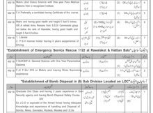 Civil Defense Azad Kashmir 52 Jobs 17th February 2018 in Daily Jang Newspaper