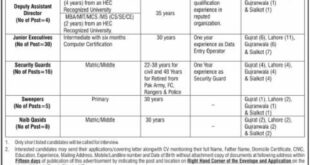 National Database and Rgistration Authorty 63 Jobs, 18th February 2018, Daily Express Newspaper