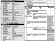 University of Punjab New Jobs 25th February 2018 Daily Jang Newspaper