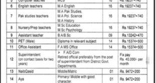 District Public School Bahawalnagar Campus New Jobs 15th February 2018 Daily JangNewspaper