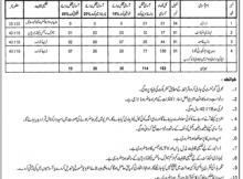 Hafizabad Education Department 192 Jobs 01/02/2018 Daily Jang Newspaper
