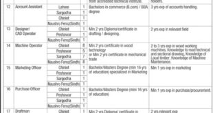 Furniture Pakistan 162 Jobs 12 February 2018 Daily Jang Newspaper