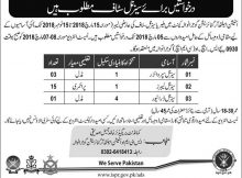 Station Health Organization Gujranwala Cant 19 Jobs, 22nd February 2018, Daily Nawaye Waqat Newspaper