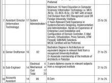 92 Jobs in Lahore Development Authority (LDA) 05 February 2018 Daily Jang Newspaper