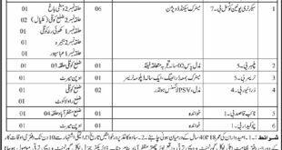 Muzaffarabad Department of Local Government and Rural Development 12 Jobs 09/02/2018 Daily Osaf Newspaper