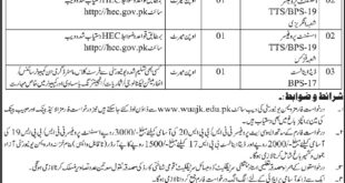 Women University Bagh Azad Jammu & Kashmir (AJK) 04 Jobs, 14 February 2018 Daily Osaf Newspaper