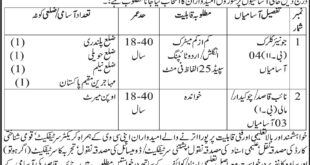Board of Trustees Employees Benevolent Fund & Group Insurance AJK 07 Jobs, Express Newspaper