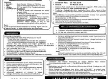 Job Opportunity in Pakistan Navy 11th February 2018 Daily Express Newspaper