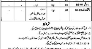 Revenue Department Muzaffargarh 73 Jobs, 18th February 2018, Daily Express Newspaper