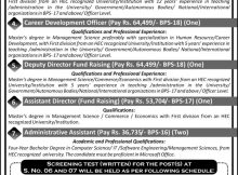 Jobs Opportunity in University of Peshawar 13th February 2018 Daily Aaj Newspaper