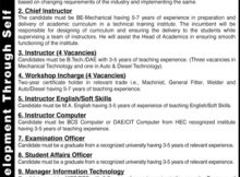 Career Opportunity in Atlas Foundation 05 March 2018 Daily Jang Newspaper