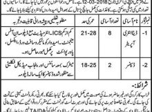 Job in Civil Hospital Phalia 10 Jobs 01st March 2018 Daily Express Newspaper
