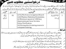 Secretariat of information, tourism and IT AJK Jobs 01st March 2018 Daily Ausaf Newspaper