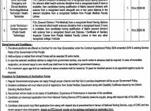 District Health Authority Chiniot 08 Jobs Daily Express Newspaper 12 March 2018