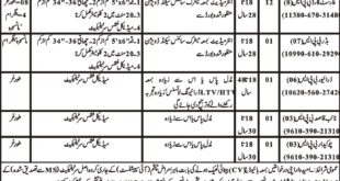Jobs in Forest Department Mansehra Daily Mashriq Newspaper 24 March 2018