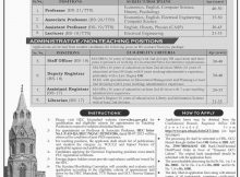 Jobs in Government College University Lahore 05 March 2018 Daily Jang Newspaper
