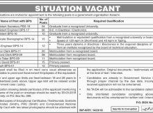 Government Organization Jobs in Karachi Daily Dawn Newspaper 16 March 2018