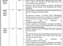Punjab Land Record Authority 14 Jobs March 08 2018 Daily Jang Newspaper