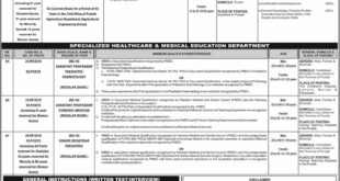 Jobs in Punjab Public Service Commission Daily Jang Newspaper 18 March 2018