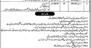 Director of Special Education Punjab 40 Jobs 02nd March 2018 Daily Jang Newspaper