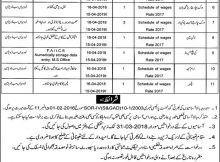Jobs in Irrigation Department Lodhran Daily Express Newspaper 14 March 2018