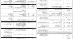 Pakistan Water and Power Development Authority (WAPDA) 504 Jobs Daily Jang Newspaper 18 March 2018