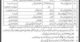 Jobs in Central Ammunition Depot Sargodha 09 April 2018 Daily Express Newspaper